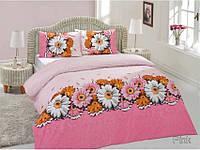 Altinbasak ранфорс 160х220 (Нав. 70Х70) Romantik розовый