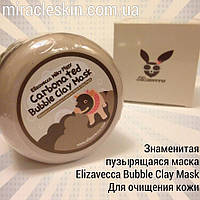 Очищающая глиняная маска Elizavecca  Milky Piggy Carbonated Bubble Clay Mask 100ml
