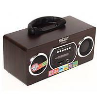 Портативный сканирующий приемник Star SR-8961, USB, CardReader, часы, будильник, автонастройка