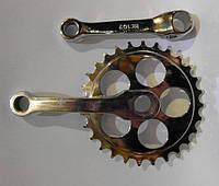 Система детская под круглый вал на 12 велосипед, 28 зубьев 102мм