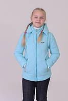 Куртка на девочку весна-осень (трансформер) 34,36,38,40,42 размер