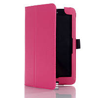 Кожаный чехол-книжка TTX с функцией подставки для Lenovo Tab 3 Essential 710/710L/710F Розовый