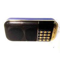 Портативная колонка с радио и USB NEEKA NK-937, CardReader, аккумулятор 2200mAh, 3Вт, клавиатура