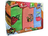 Полотенце вафельное Beyza - Fruits - 3 шт. - 40*60 - 100% хлопок - Турция - , Харьков