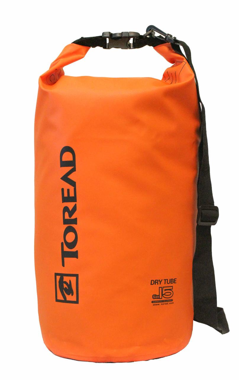 Сумка водонепроницаемая Toread Orange 15L - Интернет магазин Extreme Bag в Киеве