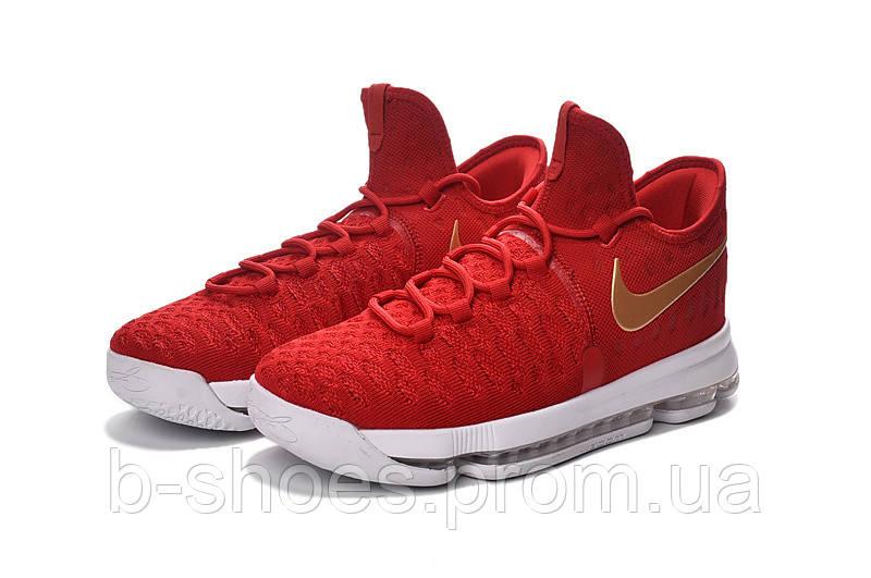 Детские баскетбольные кроссовки Nike KD 9 (Red/White)