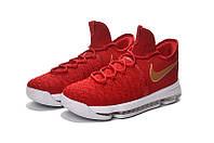 Детские баскетбольные кроссовки Nike KD 9 (Red/White), фото 1