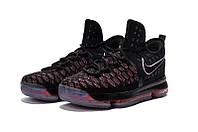 Детские баскетбольные кроссовки Nike KD 9 (Black/Red), фото 1