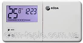 Програматор(термостат) кімнатний провідний тижневий Roda RTW7