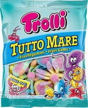 Желейні цукерки Trolli Тролі Морські зірки Німеччина 200г