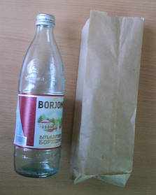 Пакеты бумажные для бутылки 50 г/кв. м