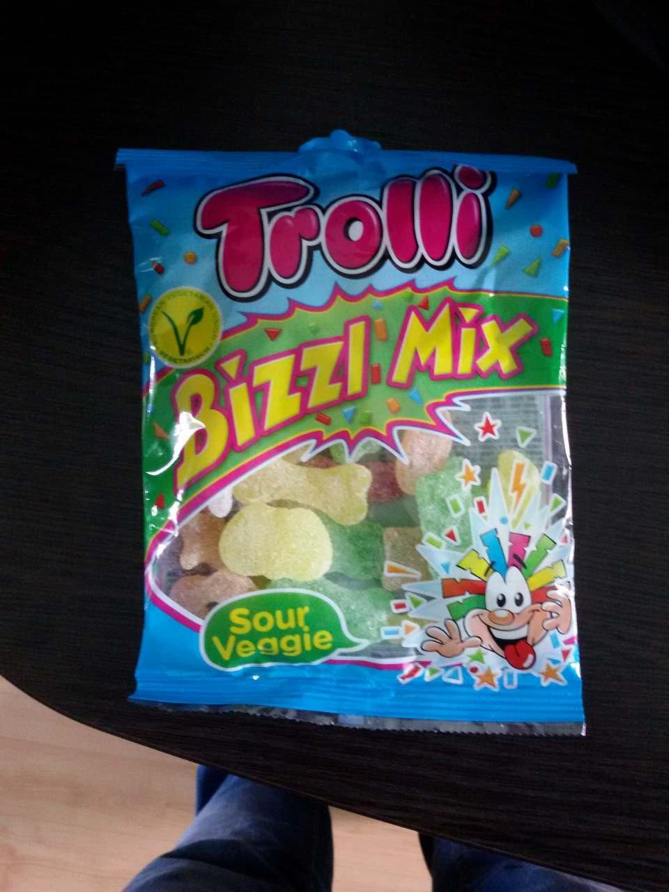 Желейные конфеты Trolli Тролли Микс желеек Германия 200г
