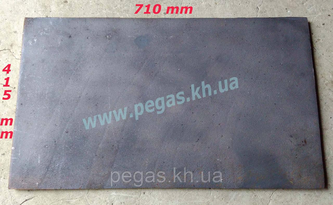 Плита печная чугунное литье (415х710мм)