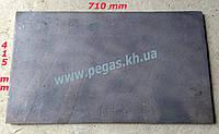 Плита печная чугунное литье (415х710мм), фото 1