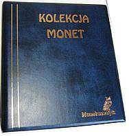 Подарочный альбом для монет Kolekcja 221 яч. синий