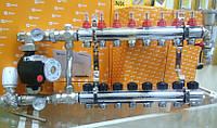 """Коллектор 1""""х3/4"""" (4 порта) готовый FADO (Italy) для теплого пола"""