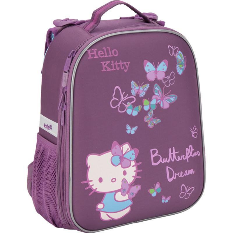 Рюкзак школьный каркасный Kite 531 hello kitty для девочек HK16-531S