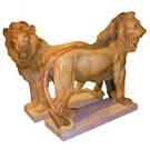 Скульптура львов