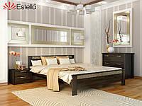 Двухспальная кровать деревянная Афина (Бук) Щит 160*200