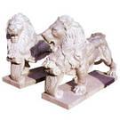 Скульптуры львов