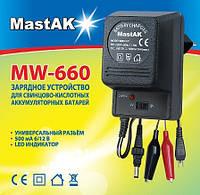 Зарядний пристрій MastAK MW 660 (6/12В, 600mА)