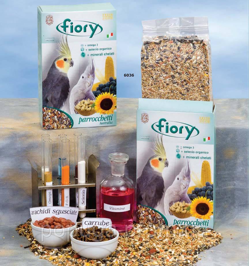 Корм для средних попугаев Fiory (Фиори) PARROCCHETTI AUSTRALIA Премиум