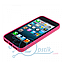 Чехол прозрачный для Apple iPhone 5, 5S Розовый, фото 3