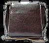 Женская сумка кожаная коричневого цвета на плечо с цепочкой LLA-044578