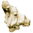 Скульптуры тигров