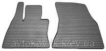 Резиновые передние коврики в салон BMW X6 (F16) 2014- (STINGRAY)