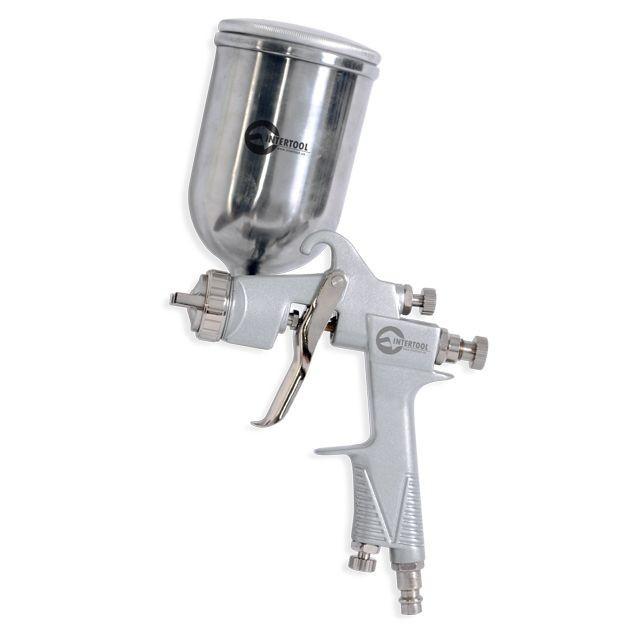 Краскораспылитель пневматический HP STEEL INTERTOOL PT-0201