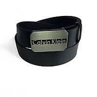 Кожаный мужской ремень Calvin Klein