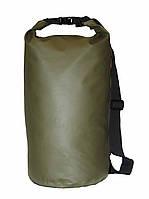 Сумка водонепроницаемая Extreme Bag зелёная 15L