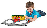 Игровой набор Депо Тидмута паровозик Томас Fisher-Price Take-n-Play Tidmouth Sheds Adventure Hub