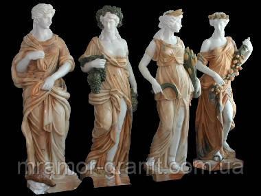Скульптуры девушек