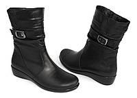 Комфортные кожаные ботинки-баталы; по 42 размер., фото 1