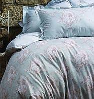 Постельное белье Karaca Home Sienna голубое евро