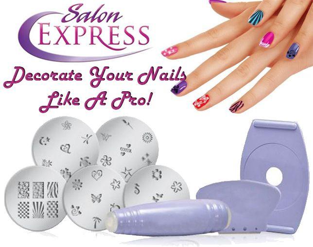 Стемпинг для ногтей Salon Express Nail Art