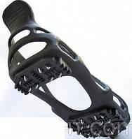 Ледоступы для ходьбы в гололед на 24 шипа, ледоходы, накладки на обувь
