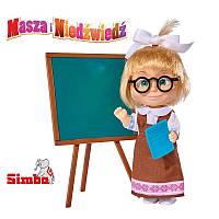 Кукла со школьными аксессуарами Маша и Медведь SIMBA 9301944