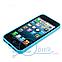 Чехол прозрачный для Apple iPhone 5, 5S Голубой, фото 3