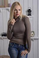 Водолазка женская коричневая на каждый день ., фото 1