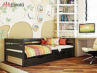 Кровать из натурального дерева Нота щит