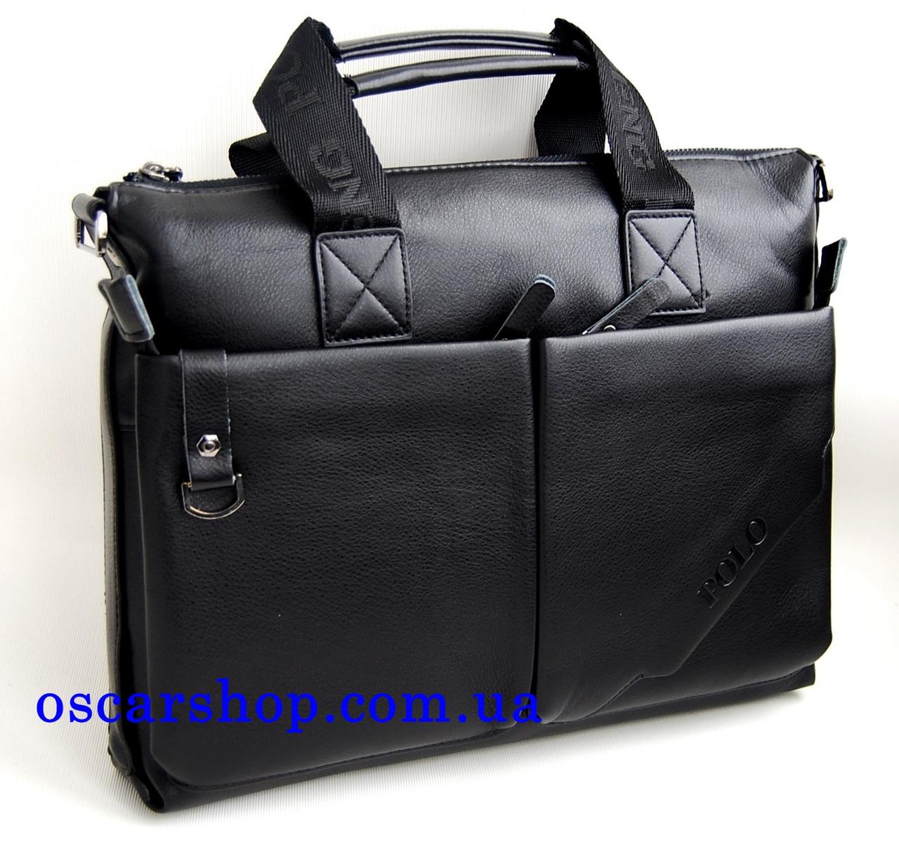 b1371fe0b238 Мужская сумка-портфель Polo под формат А4 КС10-3 - интернет-магазин
