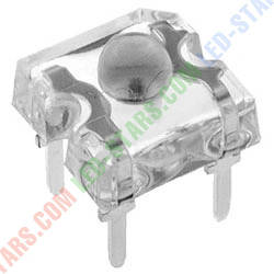Светодиод Желтый (590nm) пиранья 3 мм. FYLF-1860 UYC (прозрачный), 90° FORYARD