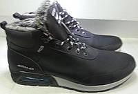 Ботинки мужские кожаные зимние AIR MAX 56 черн