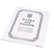 Папка для бумаги на завязках Корвет