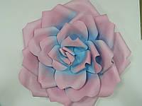 "Цветок ""Роза"" из изолона разноцветная 70 см"