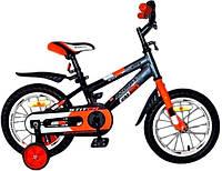 """Детский двухколесный велосипед Azimut Stitch 18"""" new (2017), фото 1"""