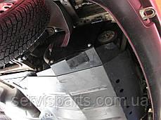 Защита двигателя Volkswagen Transporter T4 1990-2003 (Фольксваген Транспортер Т4), фото 3